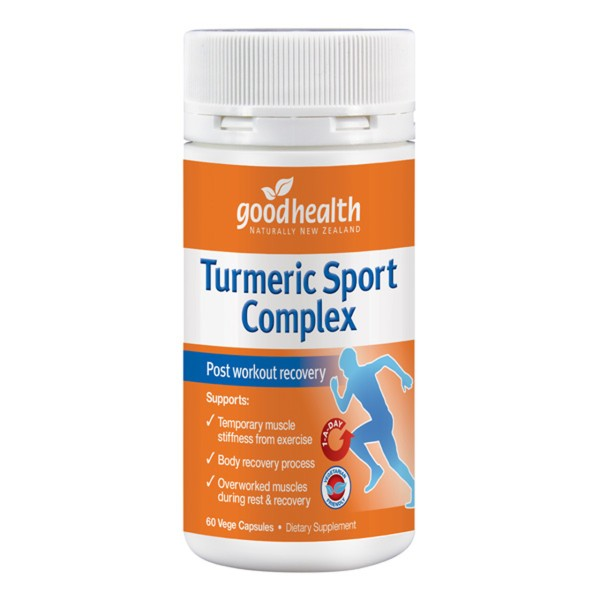 Good Health Turmeric Sport Complex 60 Capsules