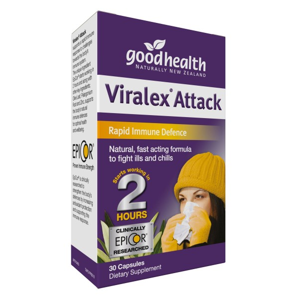Good Health Viralex Attack 30 Capsules