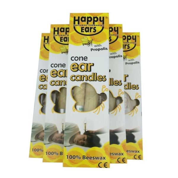 Happy Ears Candles Straight 1 Pair