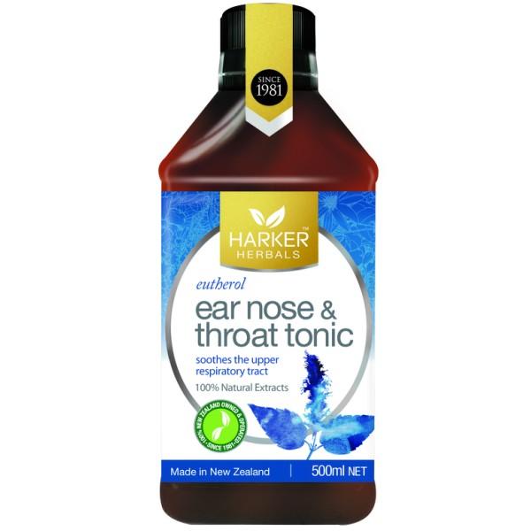 Harker Herbals Ear Nose Throat Tonic Eutherol 500ml