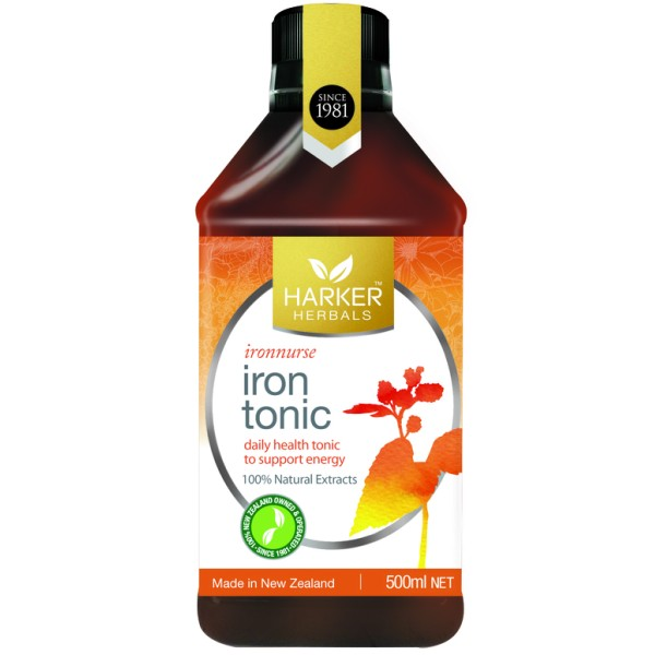 Harker Herbals Iron Tonic Ironnurse 500ml