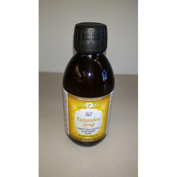Harker Herbals Kumarahou Syrup Liver Pancreas, Gall Bladder Health 200ml