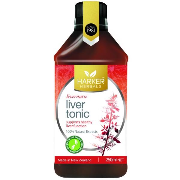 Harker Herbals Liver Tonic Livernurse 250ml