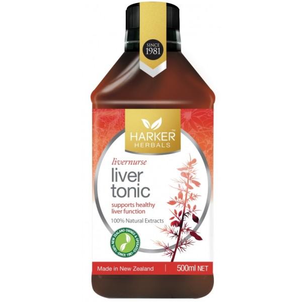 Harker Herbals Liver Tonic Livernurse 500ml