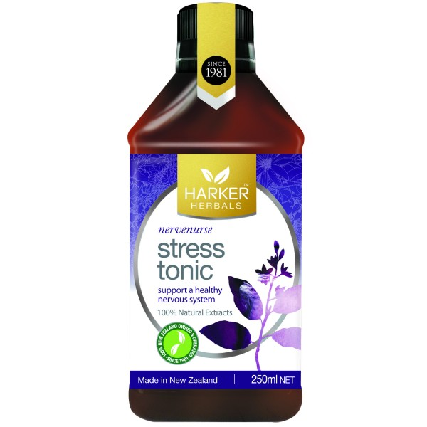 Harker Herbals Stress Tonic Nervenurse 250ml