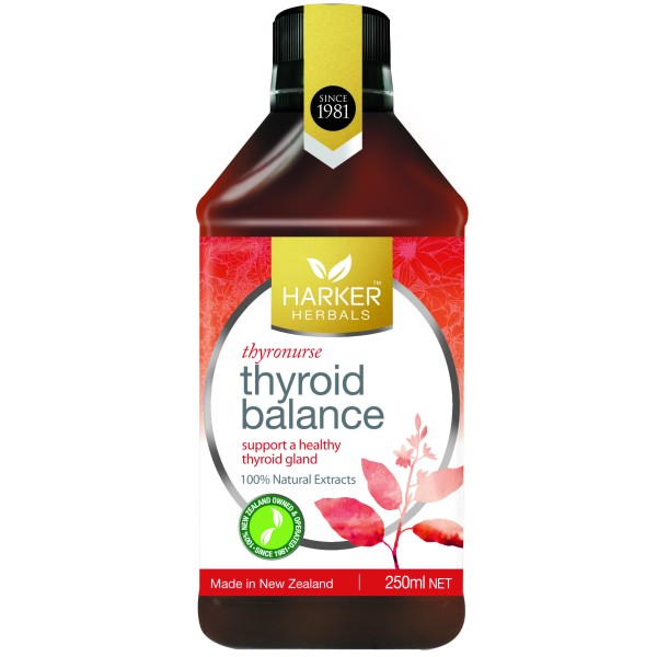 Harker Herbals Thyroid Balance Thyronurse 250ml