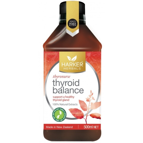Harker Herbals Thyroid Balance Thyronurse 500ml