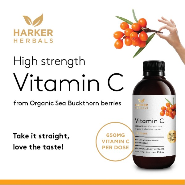 Harker Herbals Vitamin C 650mg 250ml