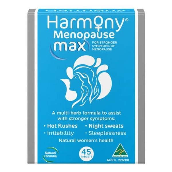 Harmony Menopause Max Formula 45 Tablets