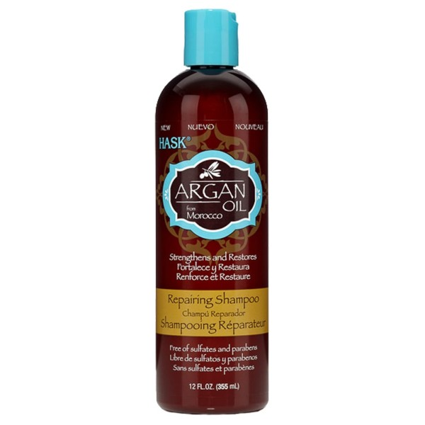 Hask Argan Oil Repairing Shampoo 355ml