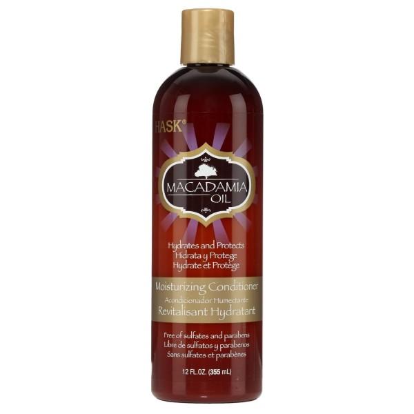 Hask Macadamia Oil Moisturizing Conditioner 355ml