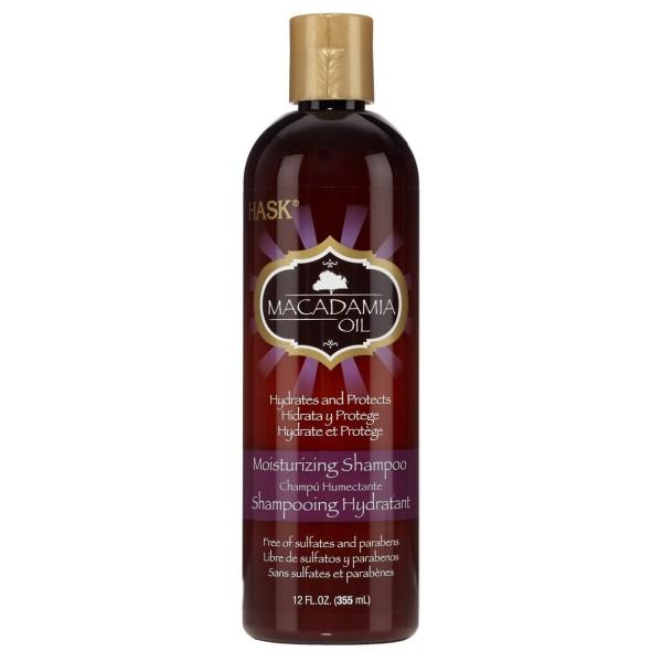 Hask Macadamia Oil Moisturizing Shampoo 355ml