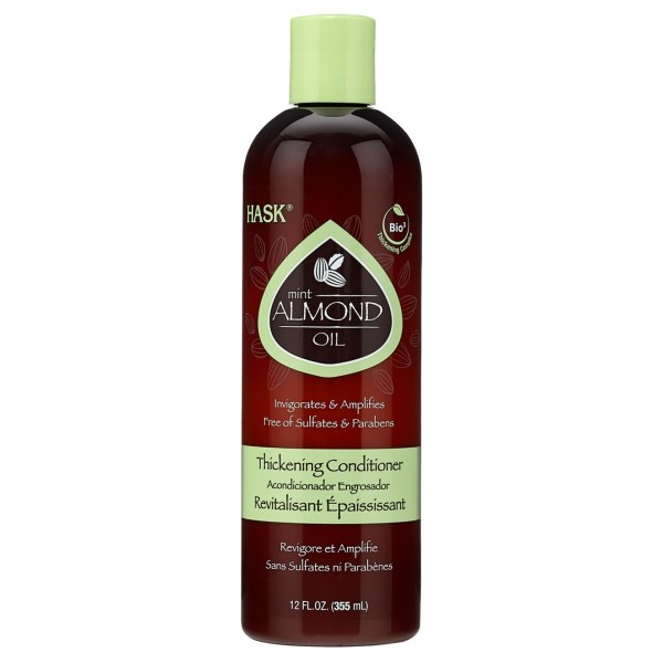 Hask Mint Almond Thickening Conditioner 355ml