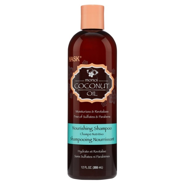 Hask Monoi Coconut Oil Nourishing Shampoo 355ml