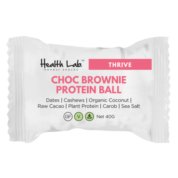 Health Lab Chocolate Brownie Protein Ball 40g
