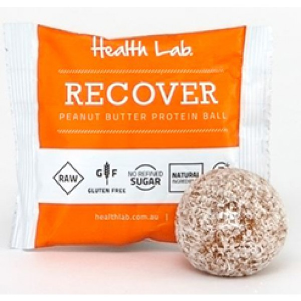 Health Lab Recover Peanut Butter Protein Ball 40g