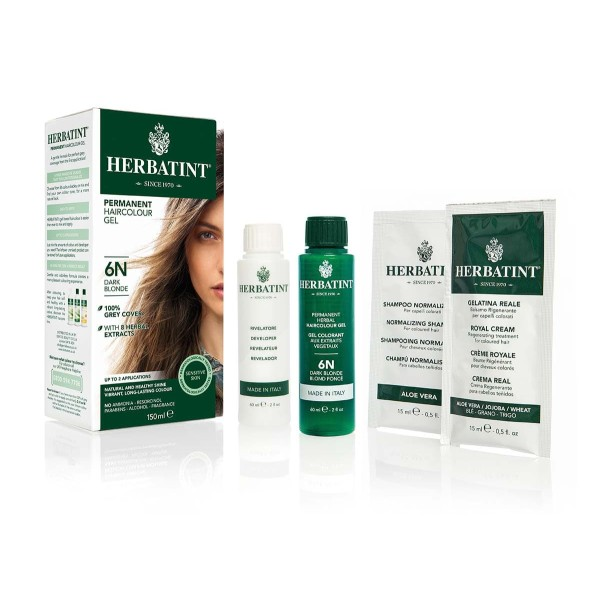 Herbatint Permanent Haircolour Gel Light Blonde 8N 150ml