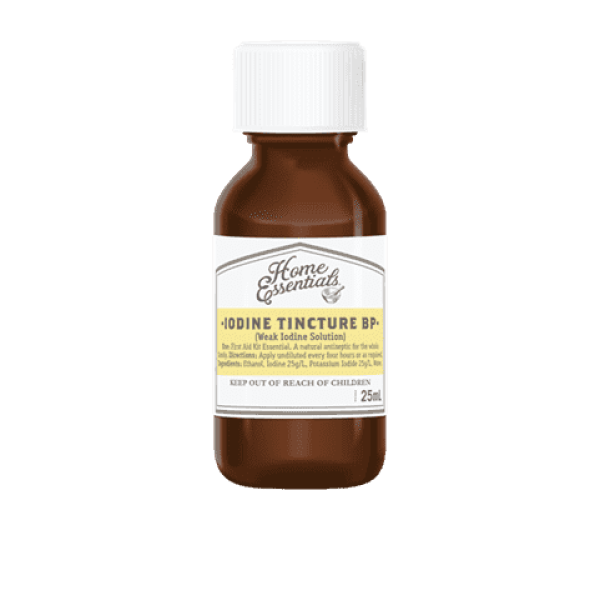 Home Essentials Iodine Tincture 25ml