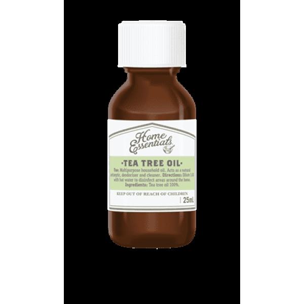 Home Essentials Tea Tree Oil 25ml