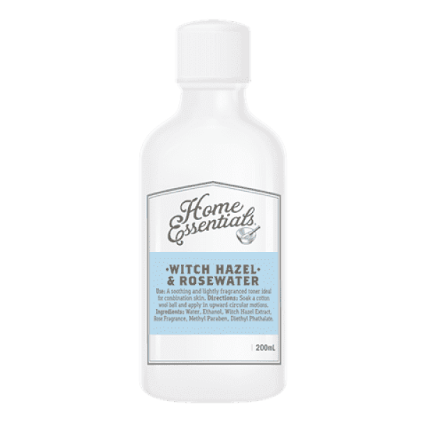 Home Essentials Witch Hazel and Rosewater 200ml
