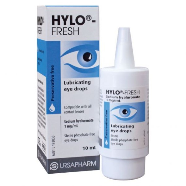 Hylo Fresh Eye Drops 10ml