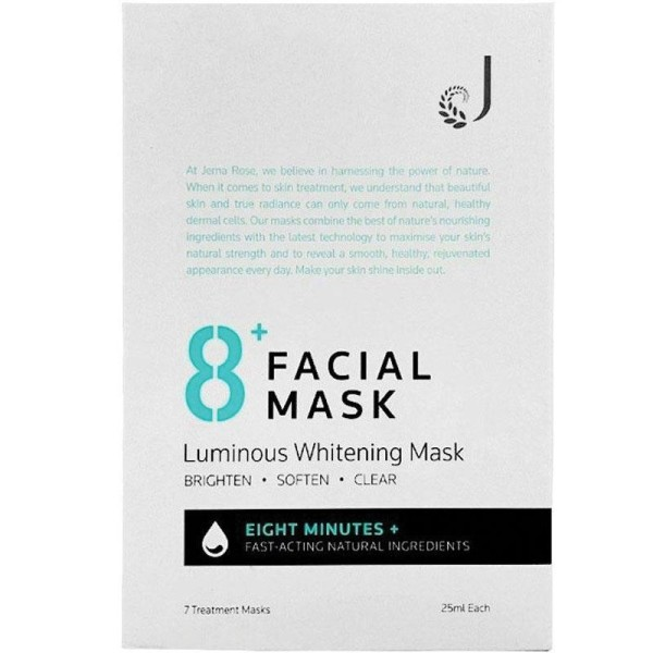 8+ Minute Luminous Brightening Facial Mask 7s