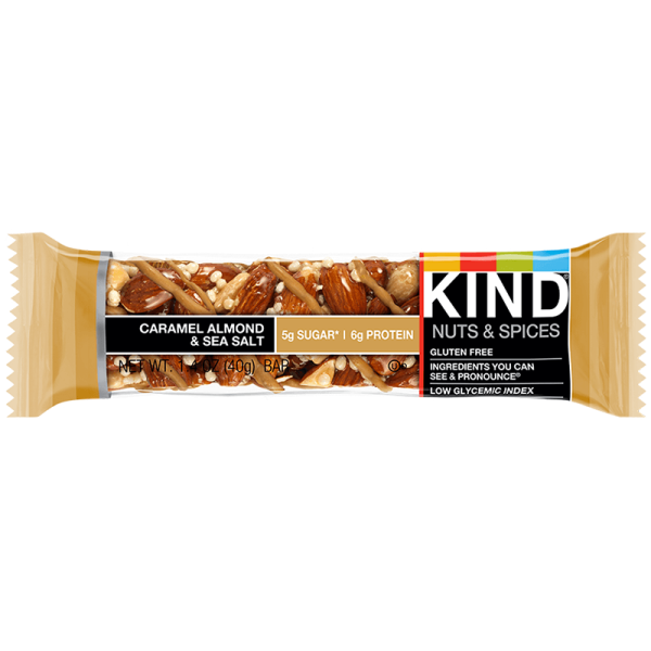 Kind Nut Bars Caramel Almond & Sea Salt 40g