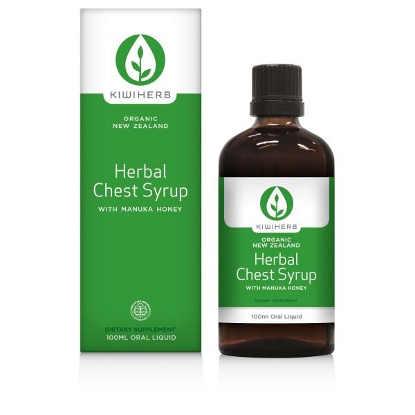 Kiwiherb Herbal Chest Syrup 100ml
