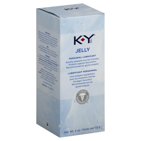 KY Jelly Personal Lubricant 113g