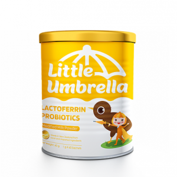 Little Umbrella Lactoferrin Probiotics Modified Milk Powder 1g x 60 sachets