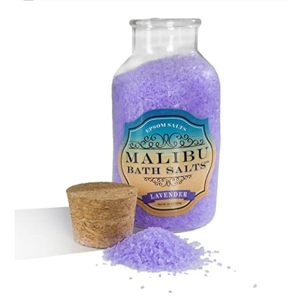 Malibu Bath Salts 624g Lavender