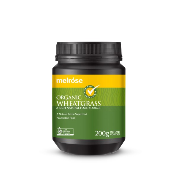 Melrose Organic Wheatgrass Powder 200g