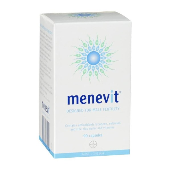 Menevit Male Fertility Supplements 90 Capsules