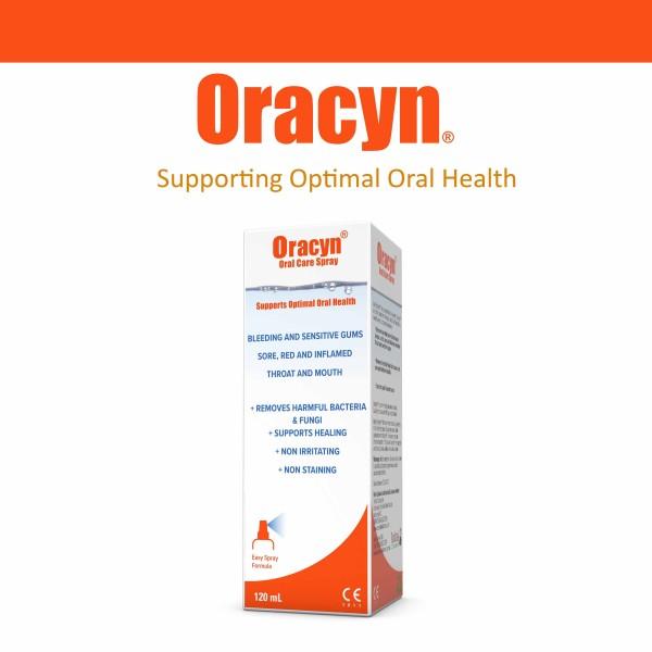 MicroHeal Oracyn Oral Care Spray 120ml