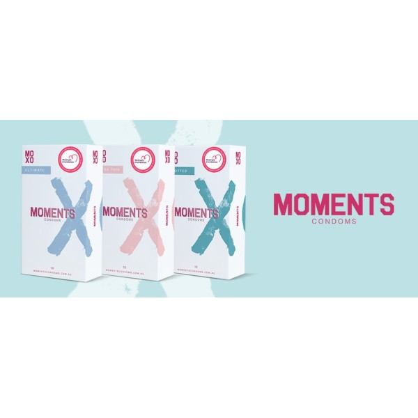 Moments Condoms Ultra Thin 53mm Width 10s