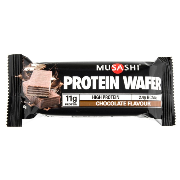 Musashi Protein Wafer Bars Chocolate Flavour 11g