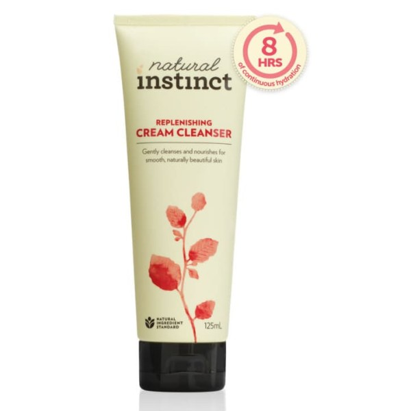 Natural Instinct Replenishing Cream Cleanser 125ml