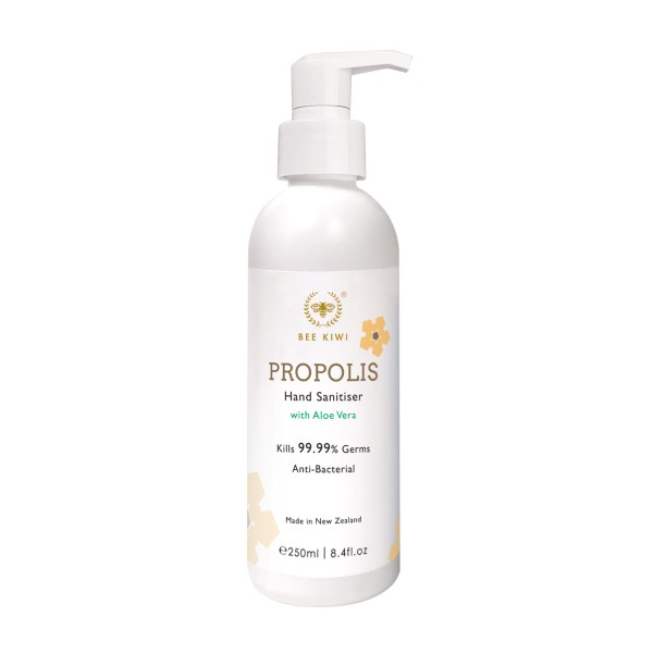 Bee Kiwi Alcohol with Propolis Hand Sanitiser 250ml