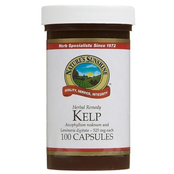 Nature's Sunshine Kelp 100 Capsules