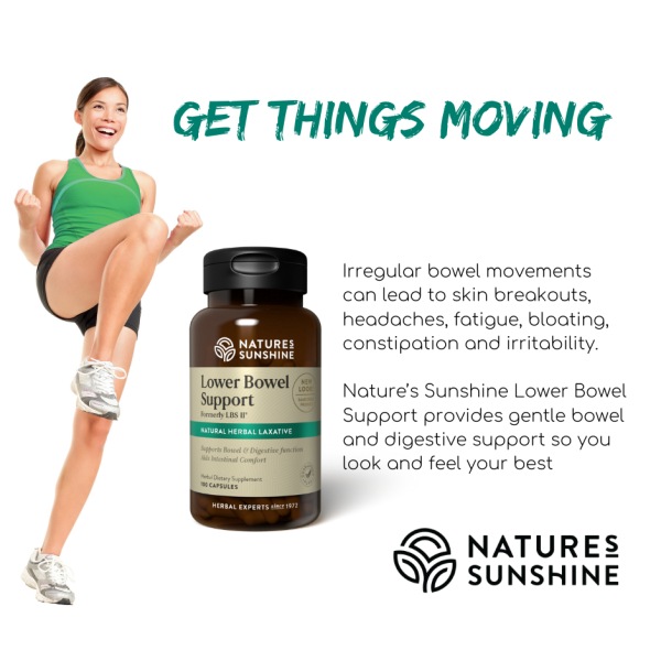 Nature's Sunshine LBS ll 100 Capsules
