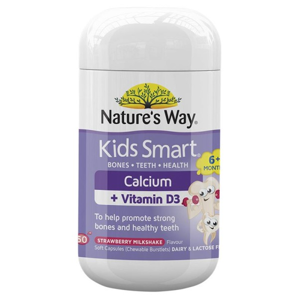 Nature's Way Kids Smart Calcium 50 Burstlets