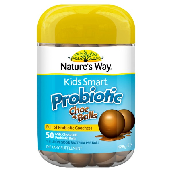 Nature's Way Kids Smart Probiotic Choc Balls 50s
