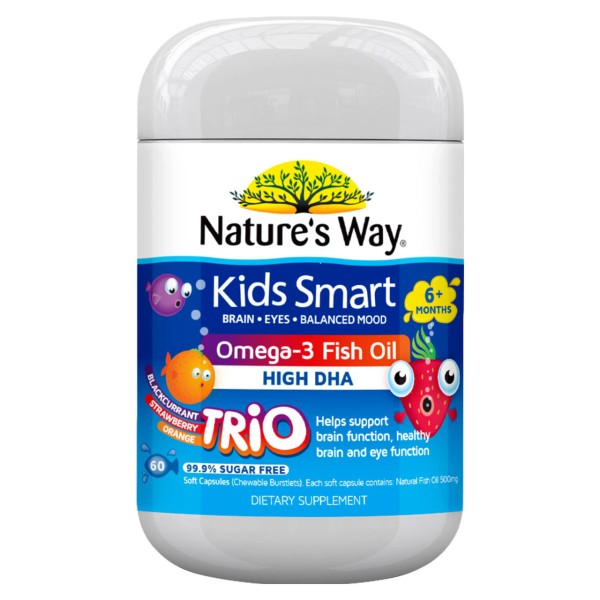 Nature's Way Kids Smart Omega-3 Fish Oil Trio 60s
