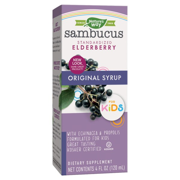 Nature's Way Sambucus For Kids Elderberry Syrup 120ml