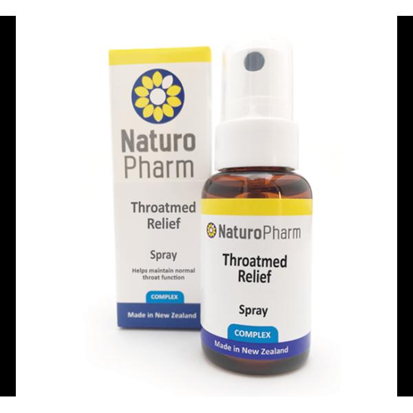 Naturo Pharm Throatmed Relief Spray 25ml