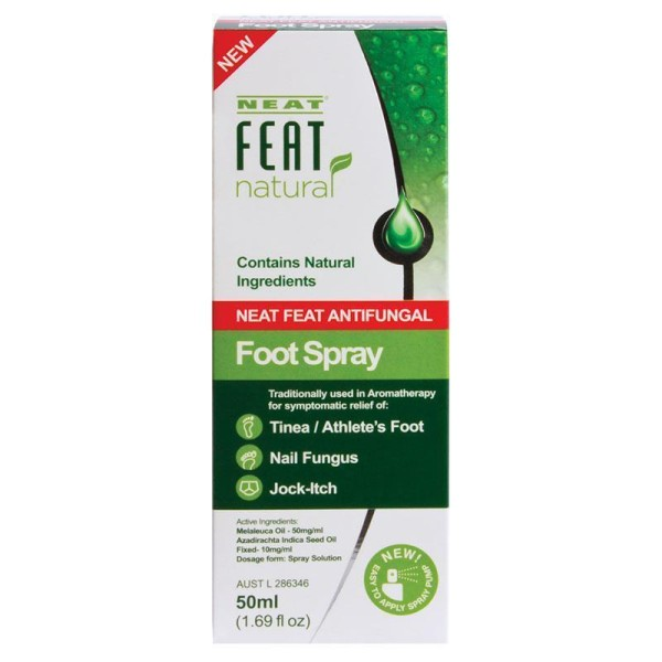 Neat Feat Natural Antifungal Foot Spray 50ml