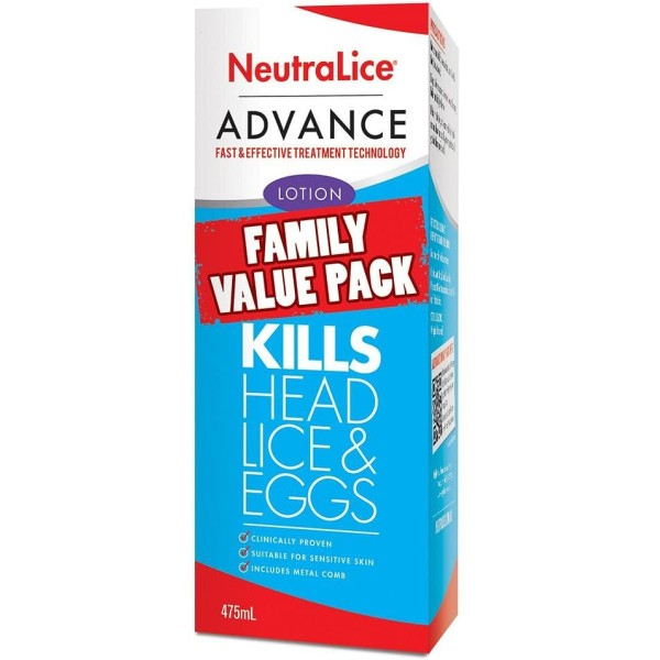 NeutraLice Head Lice Advance Lotion 475ml