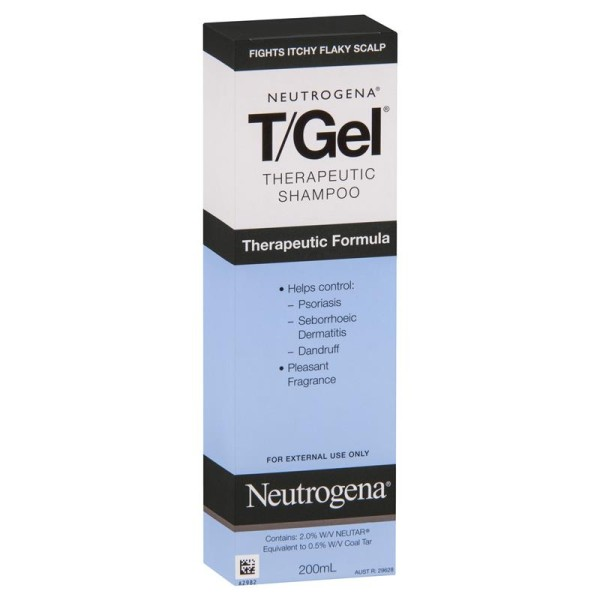 Neutrogena TGel Therapeutic Shampoo 200ml
