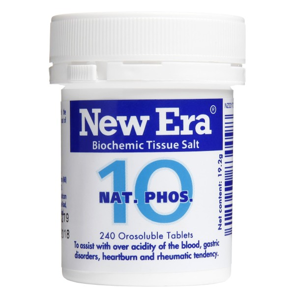 New Era Tissue Salt No.10 Nat. Phos. 240 Tablets