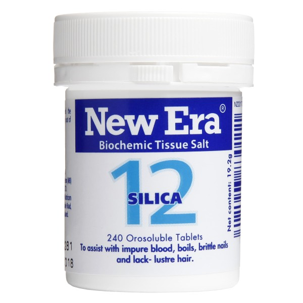 New Era Tissue Salt No.12 Silica 240 Tablets
